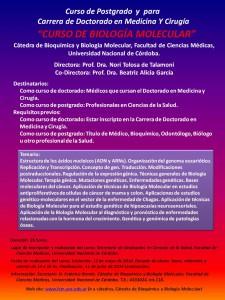 Cartel_Curso_de_Doctorado__Biología_Moleculaar_